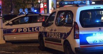 Fransa'da polisi tehdit eden kişi vuruldu