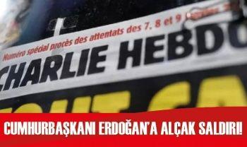 Fransız Charlie Hebdo dergisinden Cumhurbaşkanı Erdoğan'a alçak saldırı!