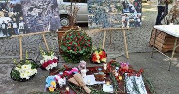 Gence'da hayatını kaybeden siviller Gürcistan'da anıldı