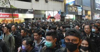 Hong Kong'da 'Çin malı' protestosu