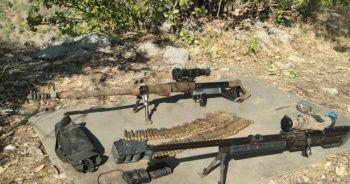 Irak'ın kuzeyinde terör örgütü PKK'nın inleri dağıtıldı: Çok sayıda mühimmat ele geçirildi