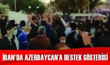 İran'da Azerbaycan'a destek gösterisi