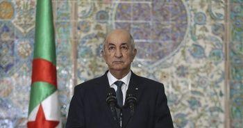 Kovid-19 tedavisi gören Cezayir Cumhurbaşkanı hakkında açıklama
