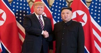 Kuzey Kore lideri Kim Jong-un Trump'a geçmiş olsun mesajı gönderdi
