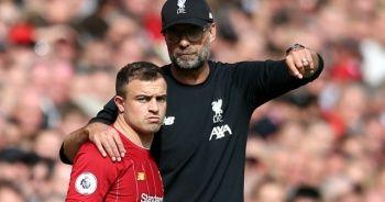 Liverpoollu Shaqiri'nin ikinci Kovid-19 testi negatif çıktı