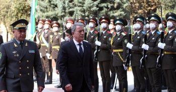 Milli Savunma Bakanı Akar, Özbekistan'da