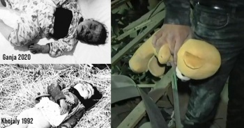 MSB'den, Ermenistan'a katledilen bebek fotoğraflarıyla tepki