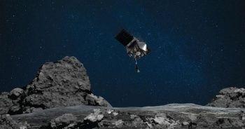 NASA'nın uzay aracı numune almak için gök taşı Bennu'ya temas etti