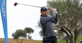 Rafael Nadal golfte de hünerlerini sergiledi