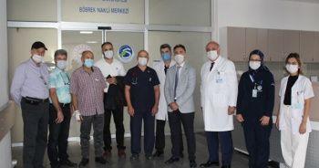 Sakarya'da ilk defa yabancı bir hastaya böbrek nakli yapıldı