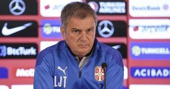 Sırbistan Teknik Direktörü Tumbakovic: Galip gelmek için uğraşacağız