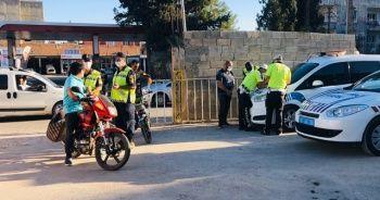 Suriye sınırında onlarca motosiklet ele geçirildi