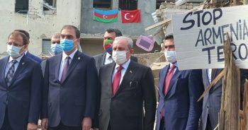 TBMM Başkanı Mustafa Şentop Saldırıların Hedefi Gence'de