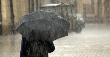 Turuncu uyarı verilmişti! Yağış başladı