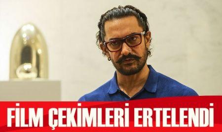 Aamir Khan'ın film çekimleri Nisan ayına ertelendi