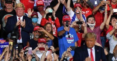 ABD Başkanı Donald Trump, Kuzey Karolina'da