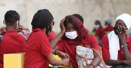 Afrika'da Kovid-19 kaynaklı can kaybı sayısı 41 bine yaklaştı