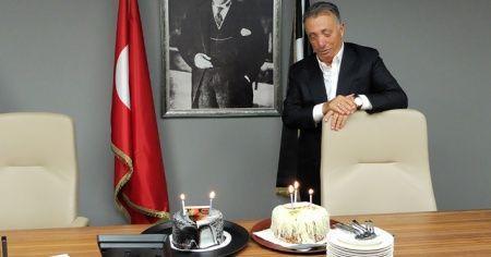 Ahmet Nur Çebi'nin doğum günü kutlandı