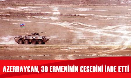 Azerbaycan, 30 Ermenistan askerinin cesedini iade etti