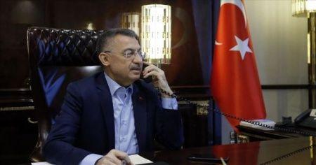 Azerbaycan Başbakanı Esedov'dan Cumhurbaşkanı Yardımcısı Oktay'a dayanışma mesajı