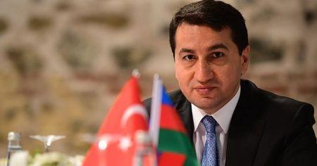 Azerbaycan'dan, Paşinyan'a tepki