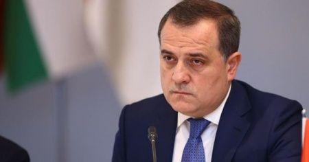 Azerbaycan Dışişleri Bakanı Bayramov Moskova'da