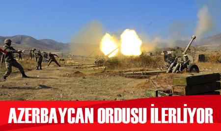 Azerbaycan ordusu, bu gece önemli arazi ve yükseklikleri işgalden kurtardı