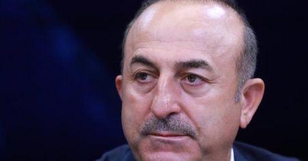 Bakan Çavuşoğlu,  Azerbaycan Dışişleri Bakanı Bayramov'la görüştü