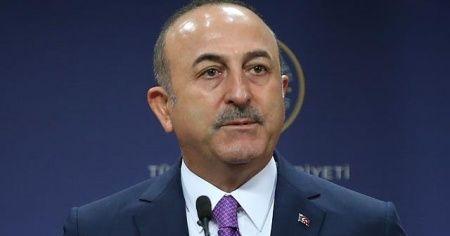 """Bakan Çavuşoğlu: """"Ersin Tatar'ı gönülden kutluyoruz"""""""