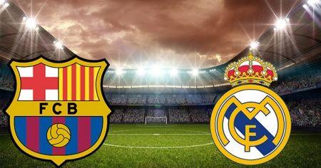 Barcelona - Real Madrid maçı CANLI İZLE