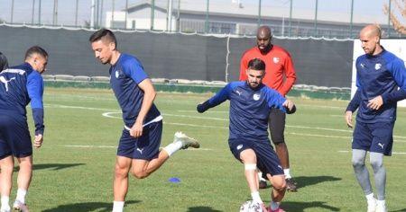 BB Erzurumspor, Fatih Karagümrük maçı hazırlıklarını tamamladı