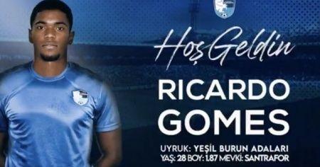 BB Erzurumspor Ricardo Gomes'i transfer etti
