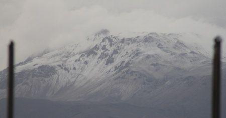 Davraz'a ilk kar düştü
