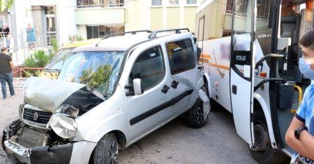 Direksiyon başında kalp krizi geçiren sürücü 3 araca çarpıp öldü
