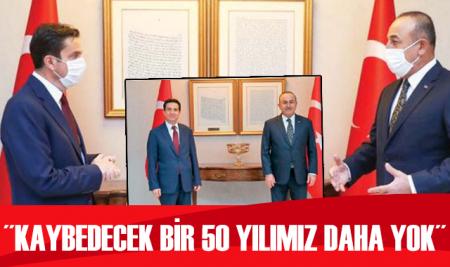 Dışişleri Bakanı Mevlüt Çavuşoğlu, Batuhan Yaşar'ın sorularını cevapladı