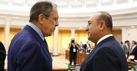 Dışişleri Bakanı Mevlüt Çavuşoğlu, Rusya Dışişleri Bakanı ile görüştü