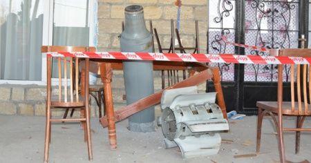 Ermenistan'ın Terter'e attığı roketler patlamadı