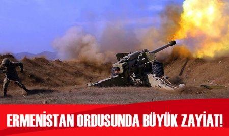 Ermenistan ordusunda büyük zayiat!