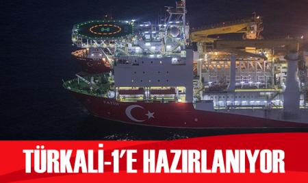 Fatih sondaj gemisi Türkali-1'e gitmeye hazırlanıyor