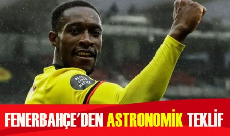 Fenerbahçe'den astronomik teklif