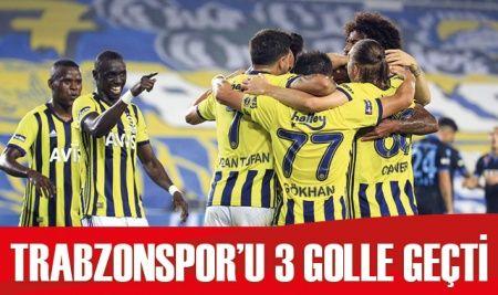Fenerbahçe, Trabzonspor'u 3-1 mağlup etti