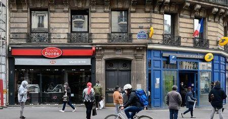 Fransa'da Kovid-19 vaka sayısı rekoru