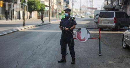 Gazze'de birçok bölgeden sokağa çıkma yasağı