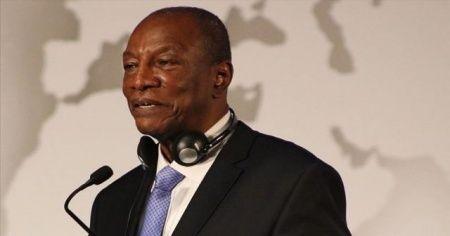 Gine'de Conde yüzde 59,49 oy alarak ilk turda yeniden cumhurbaşkanı seçildi