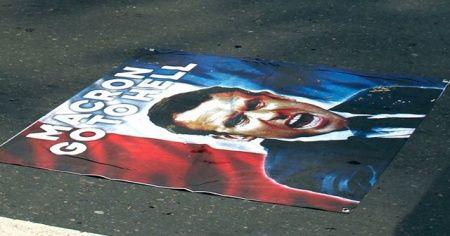 Güney Afrikalı Müslümanlar, Fransa'yı protesto etti