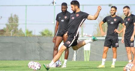 Hatayspor, Sivasspor maçı hazırlıklarını sürdürdü