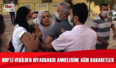 HDP'li Tosun'dan evlat nöbetindeki ailelere hakaret
