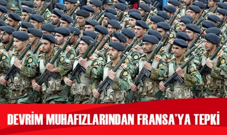 İran Devrim Muhafızları'ndan Fransa'ya tepki