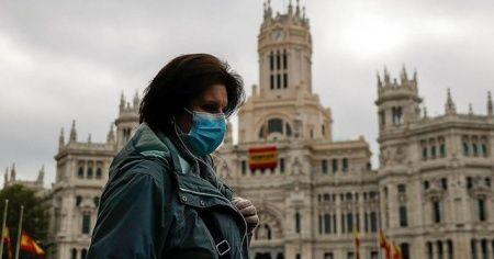 İspanya'da Kovid-19 vakalarında rekor artış