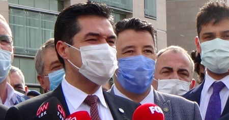 İYİ Parti İstanbul İl Başkanından Ümit Özdağ'a suç duyurusu